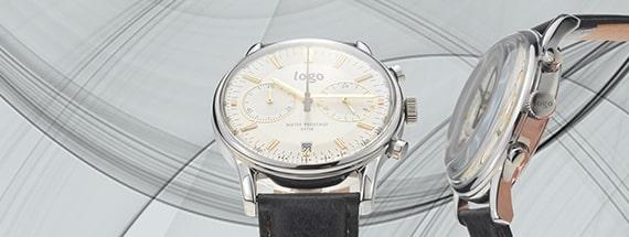 Conception de montres personalisées avec Logo