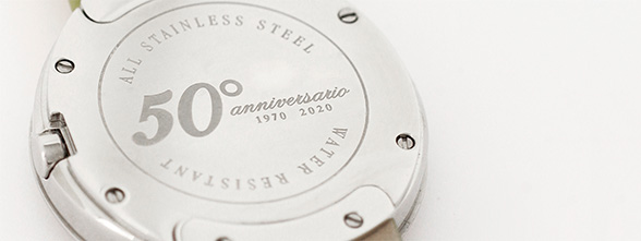 Customised watches for company anniversary