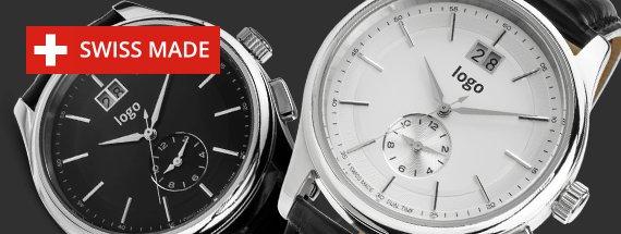 Progettazione orologi da polso Swiss Made personalizzabili e promozionali
