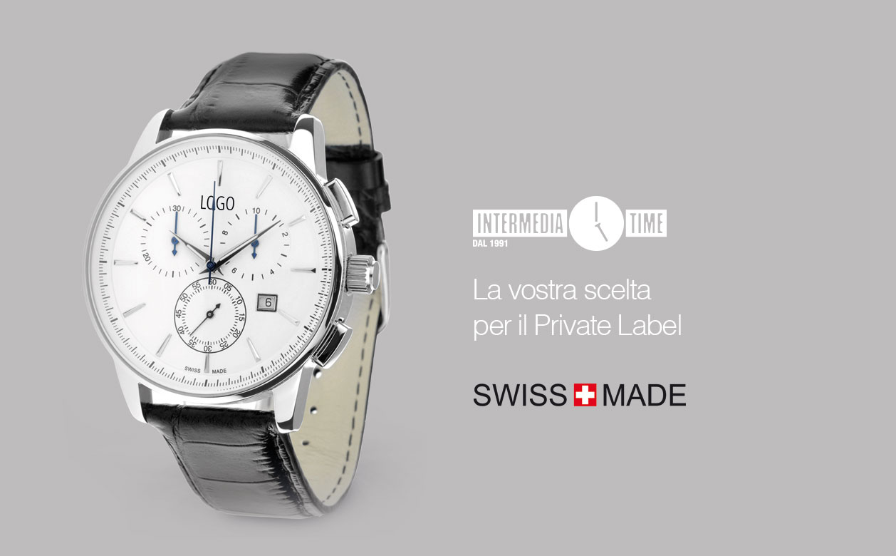 catalogo orologi swiss made personalizzabili