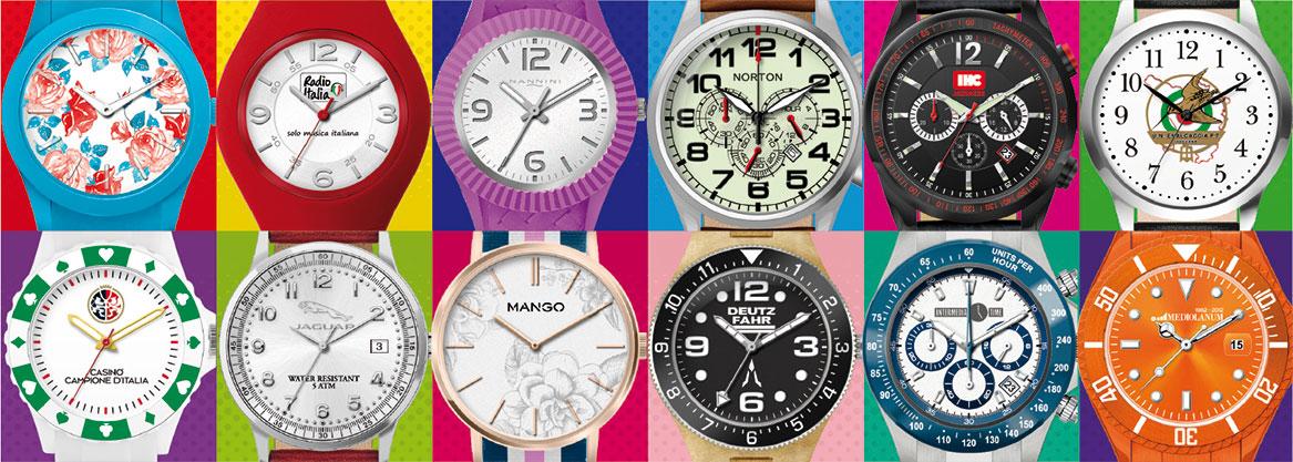 produttore orologi personalizzati